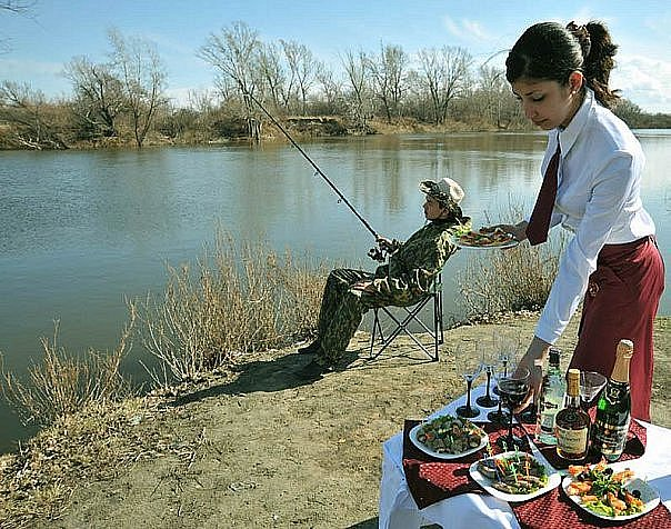 видео про рыбака и рыбу
