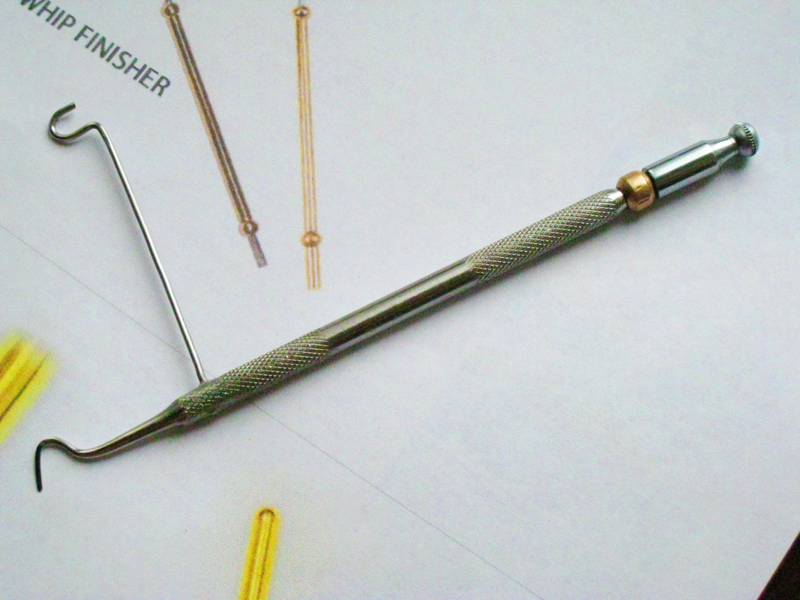 Вязание мушек инструменты своими руками 46